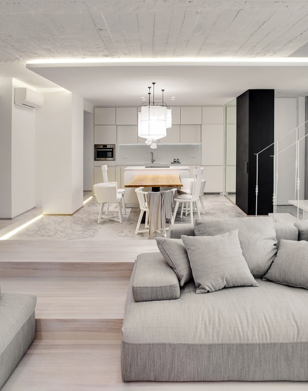kitchen-with-white-marble-floors-600x762
