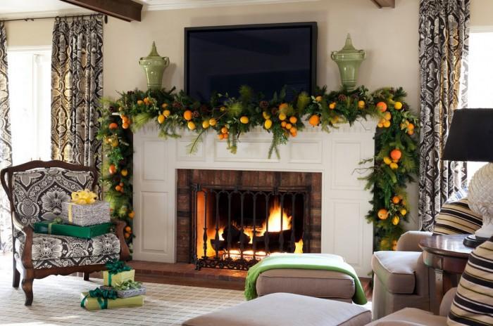 mantel-christmas-garland-ideas-700x464