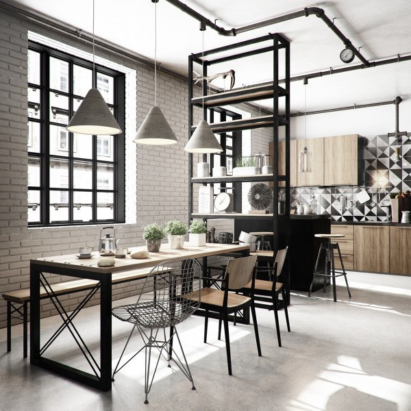 brick-wall-dining-room-600x600