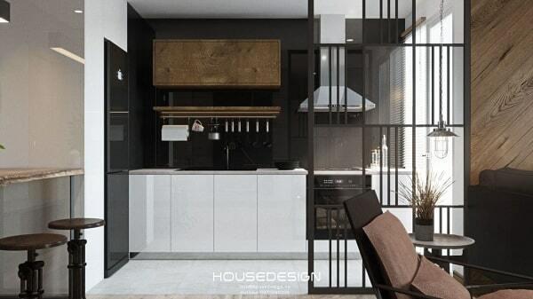 thiết kế nội thất chung cư 65m2 đẹp