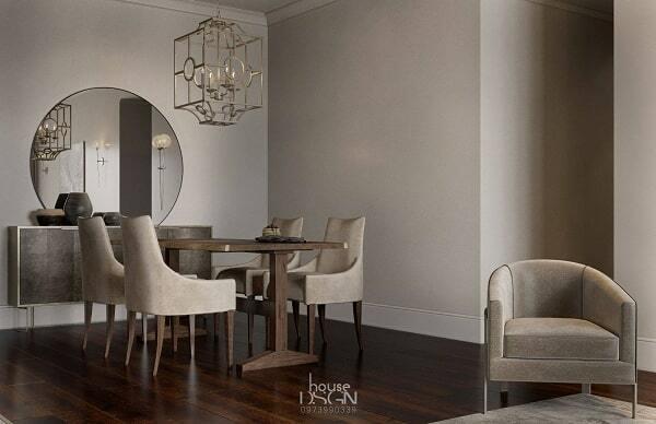 thiết kế nội thất căn hộ đẹp 65m2