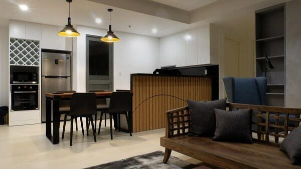mẫu thiết kế nội thất chung cư 65m2 giá rẻ