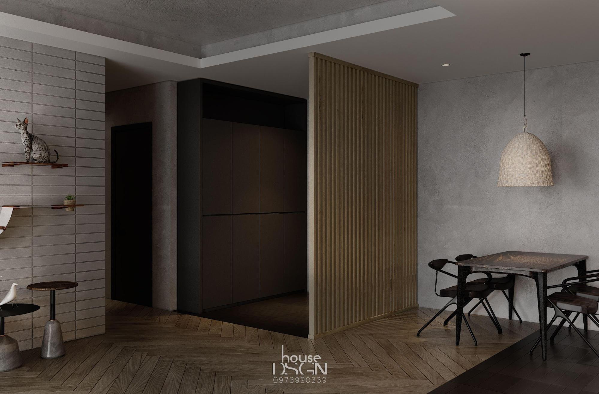 beautiful 60m2 apartment design