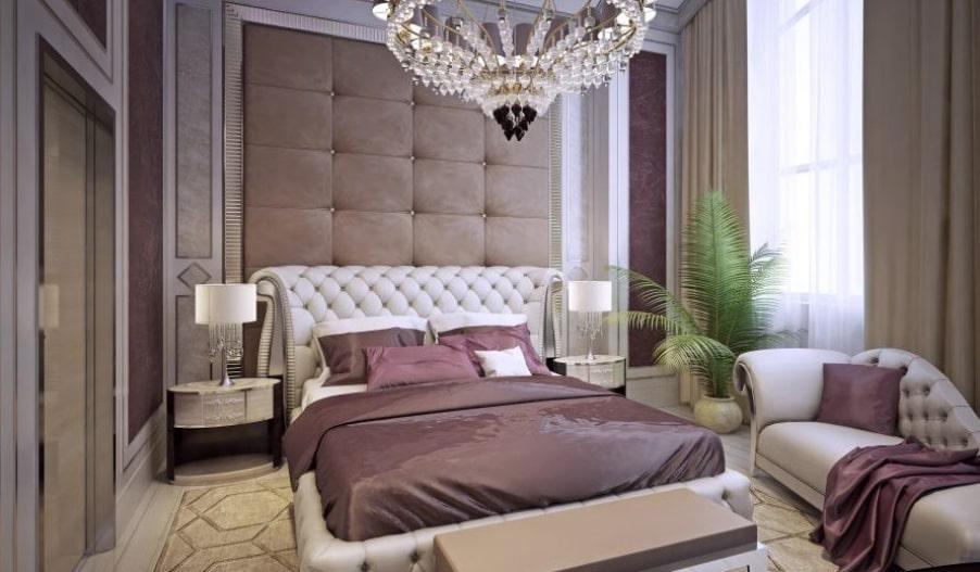 phòng ngủ với phong cách art deco đẹp