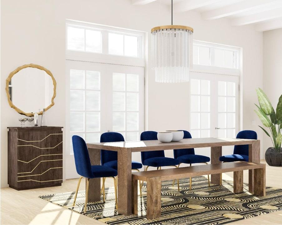 những mẫu thiết kế nội thất phong cách art deco đẹp