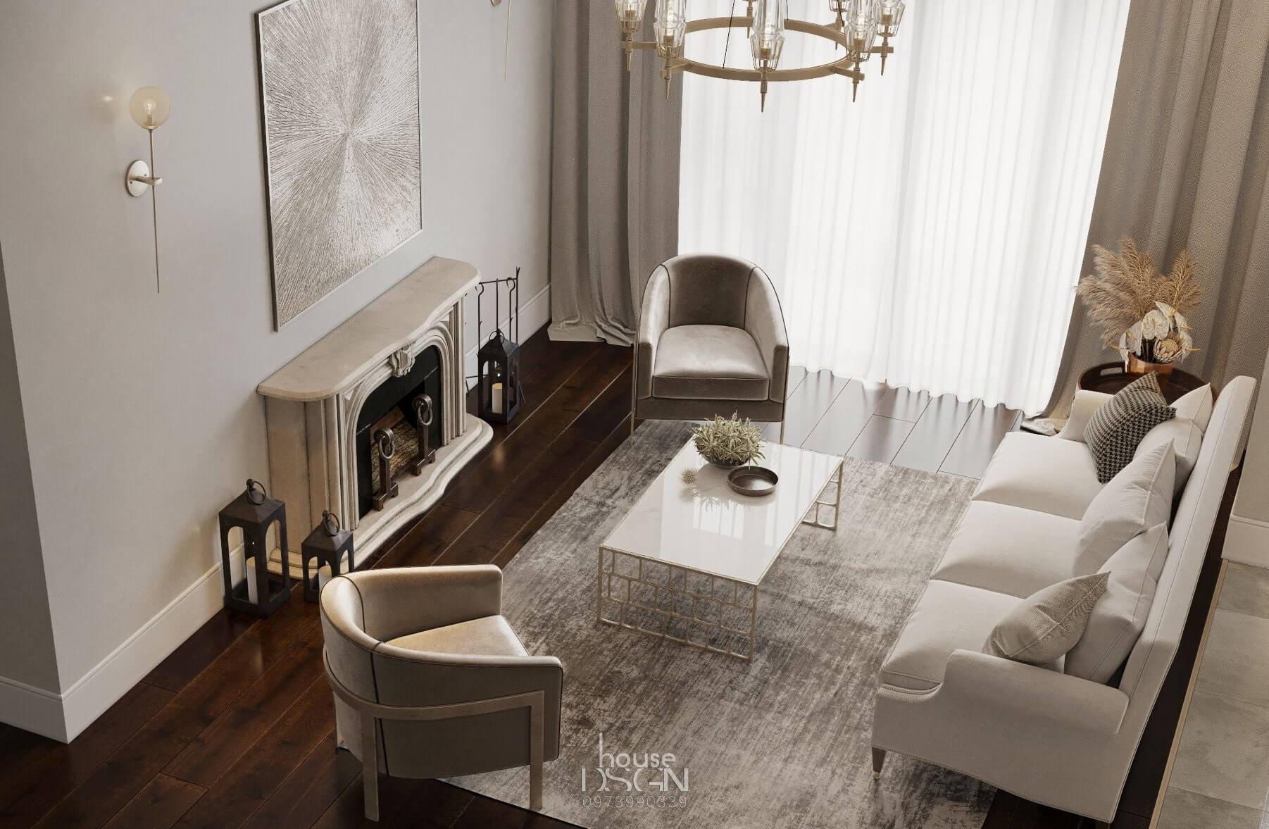 bố trí căn hộ chung cư 90m2 tiện nghi và hiện đại