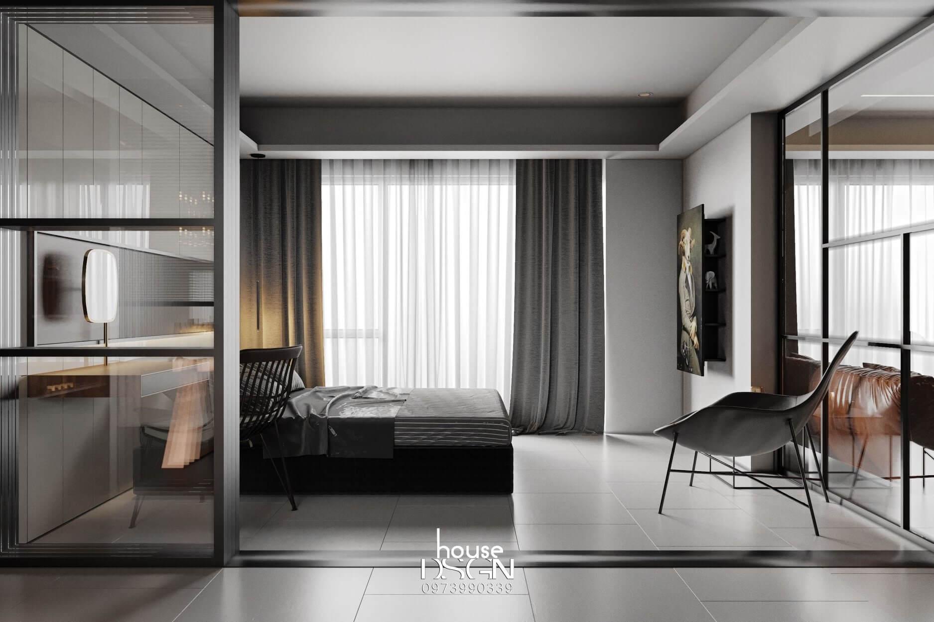 trang trí và bố trí căn hộ chung cư 90m2