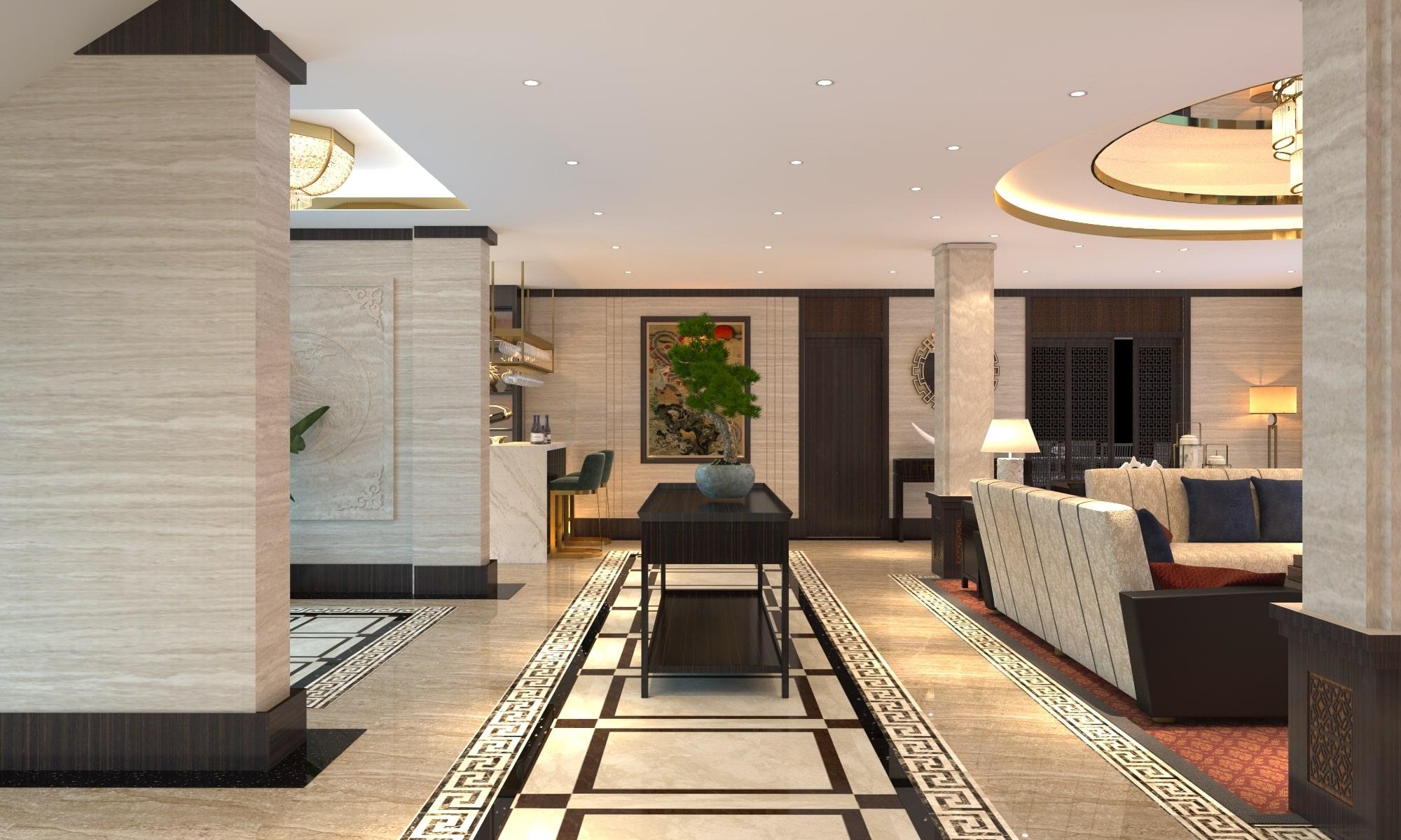 các phong cách thiết kế nội thất khách sạn đẹp và hiện đại