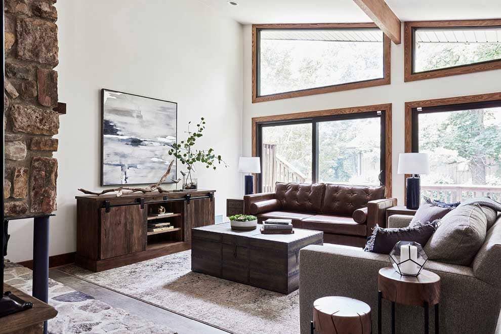 căn hộ phong cách rustic - Housedesign