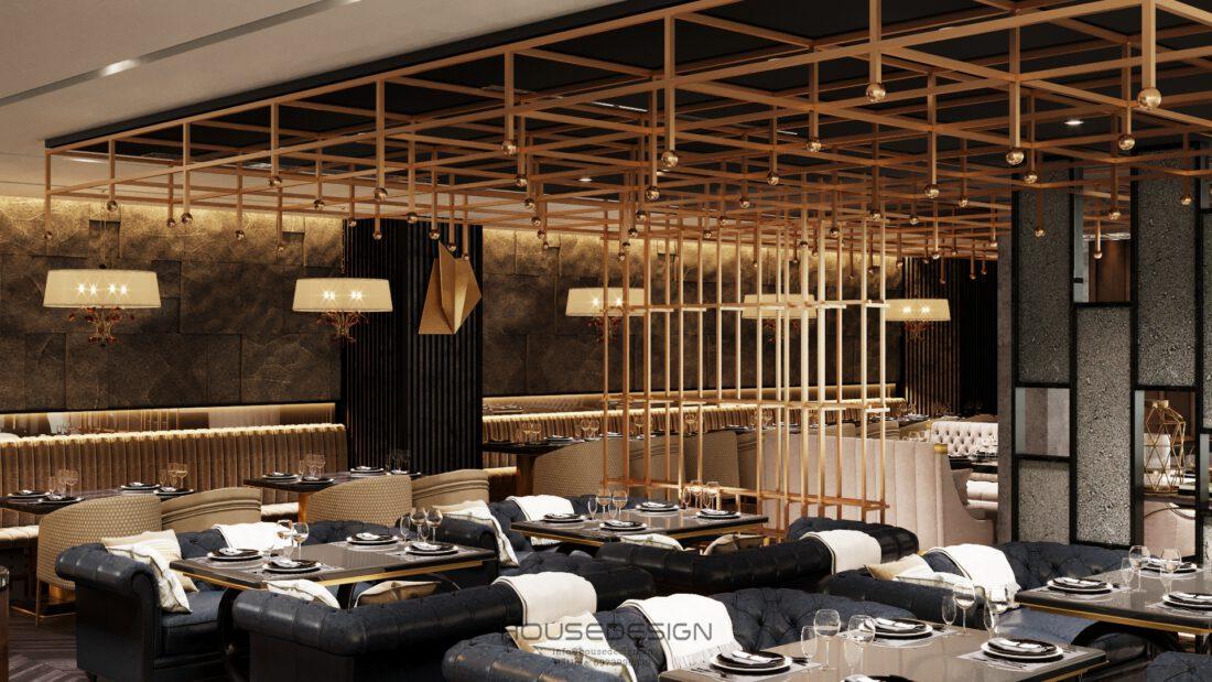 Thiết kế nội thất coffee bar restaurant