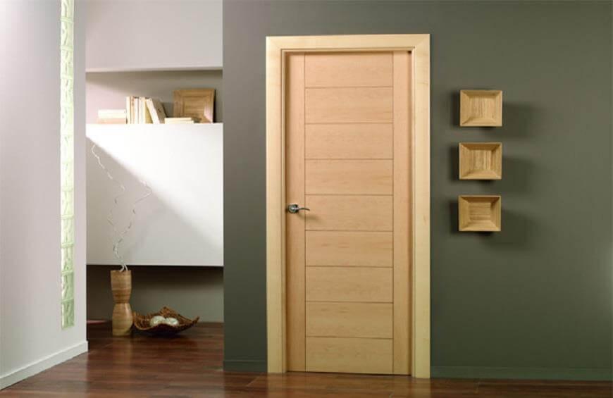 mẫu cửa gỗ phòng ngủ đẹp
