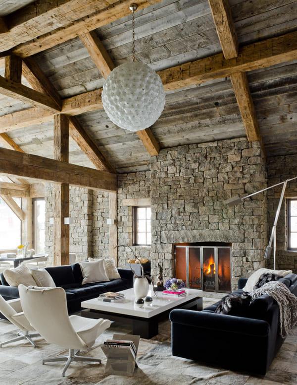 đặc trưng phong cách rustic - Housedesign