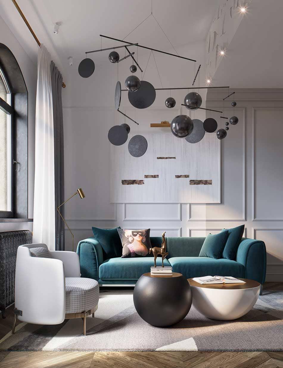 điểm nhấn của nội thất classic - Housedesign