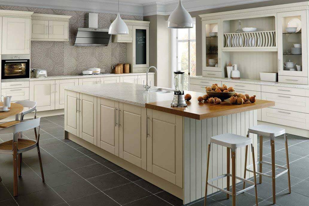 điểm nhấn của phòng bếp country - Housedesign