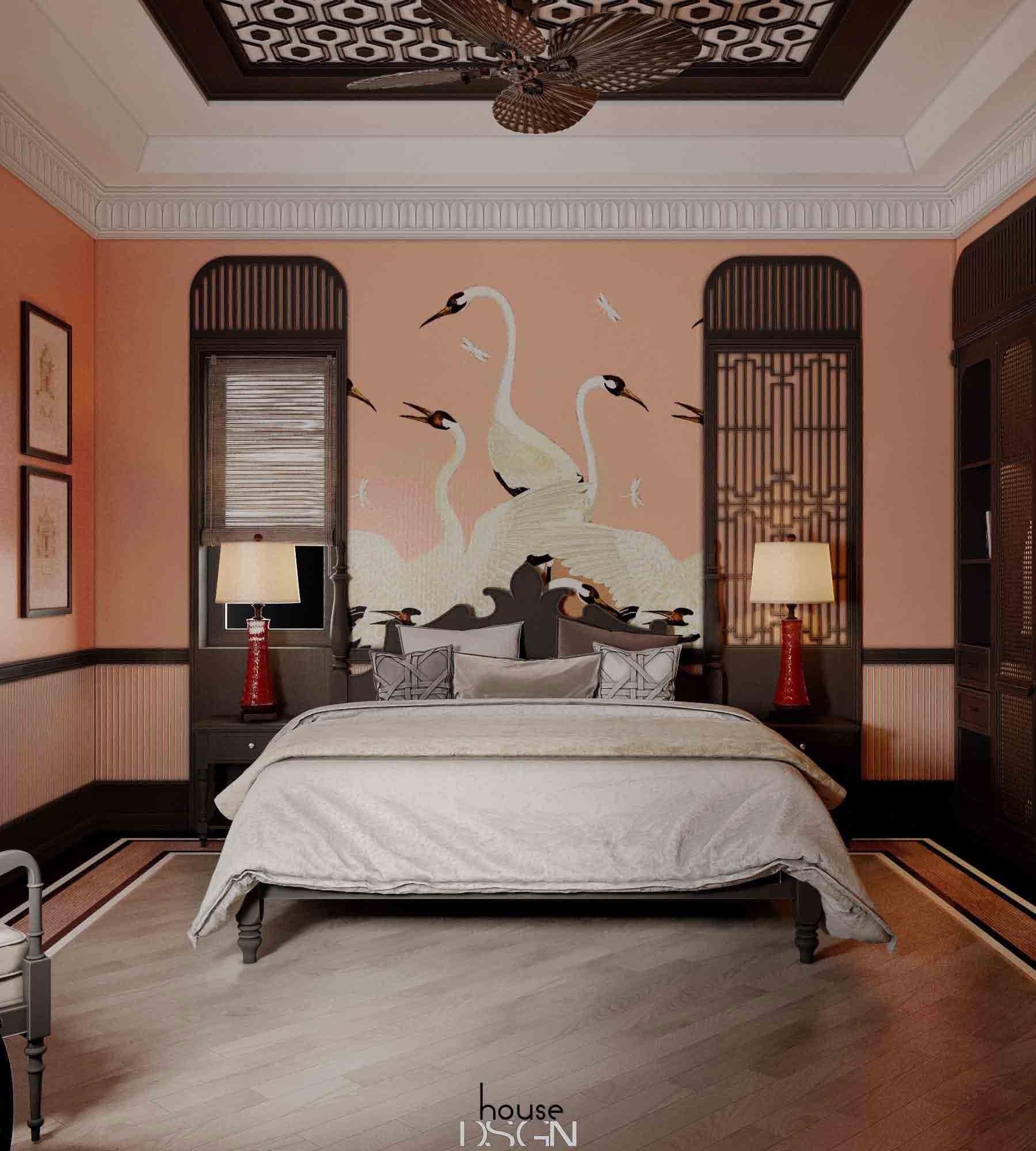 những phong cách thiết kế nội thất indochine sang trọng