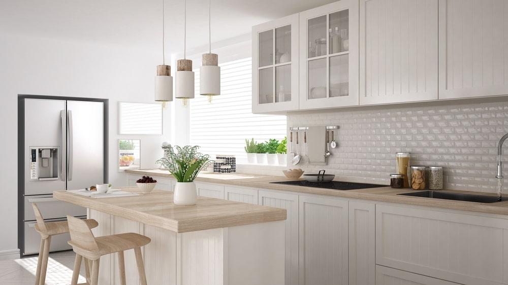 thiết kế phong cách scandinavian phòng bếp đẹp