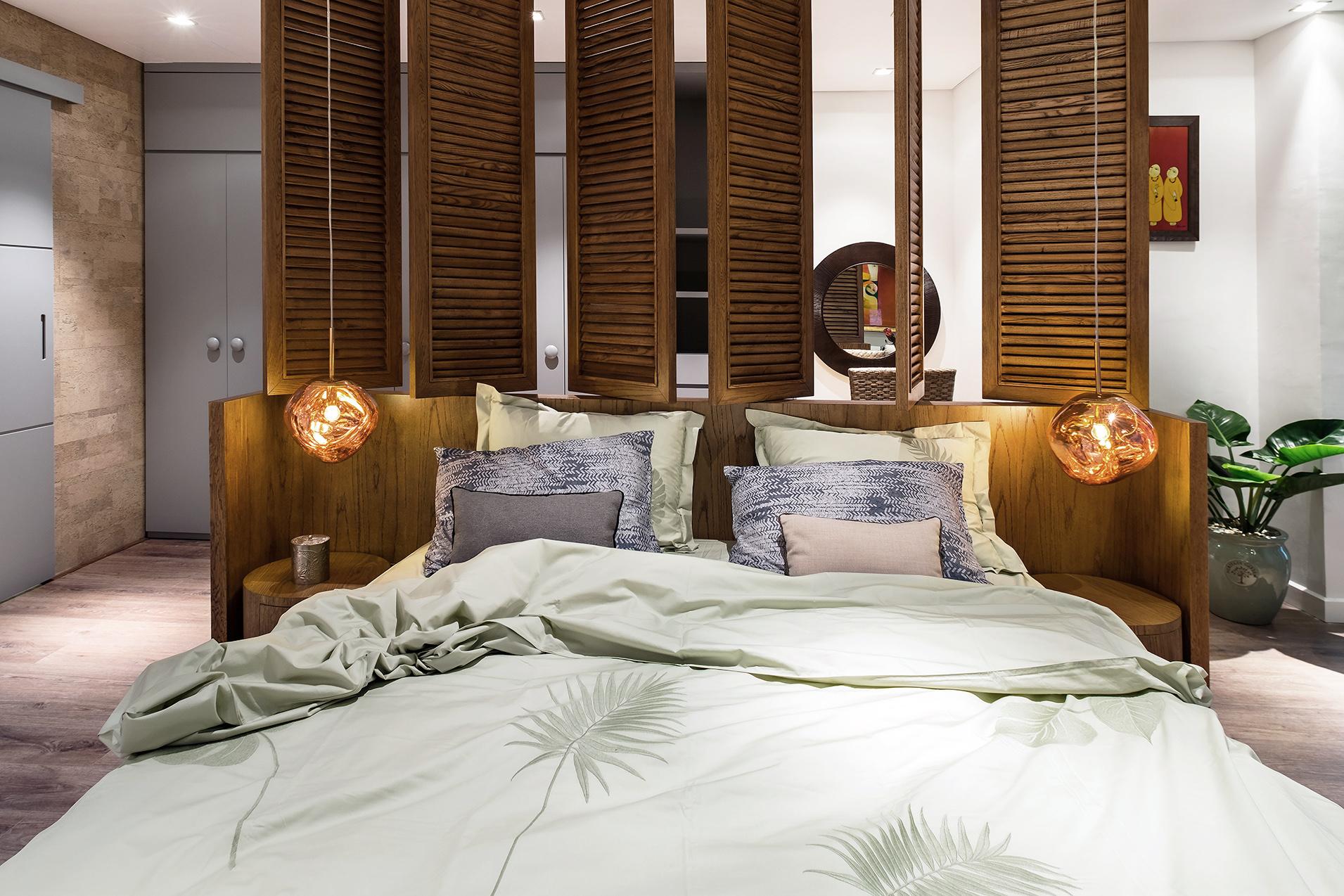 đồ nội thất tropical cho phòng ngủ