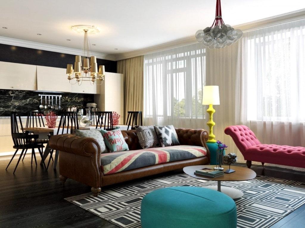 thiết kế nội thất cho không gian phòng khách