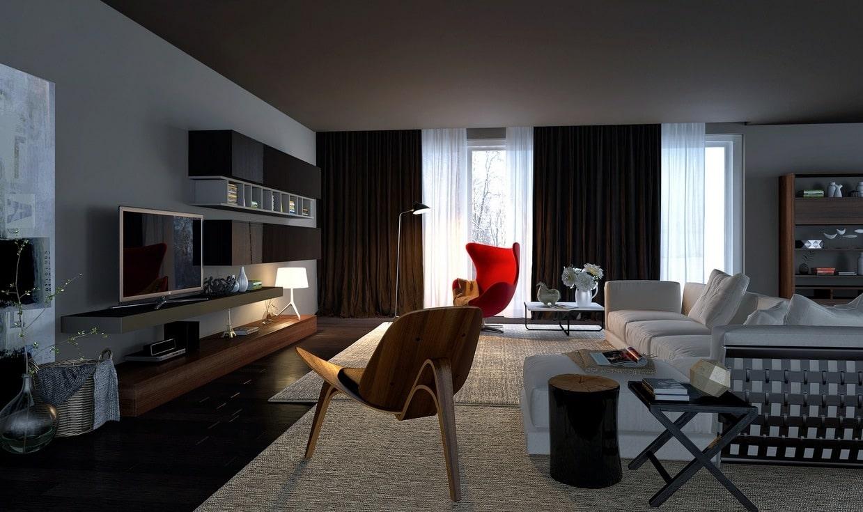 các mẫu nội thất urban