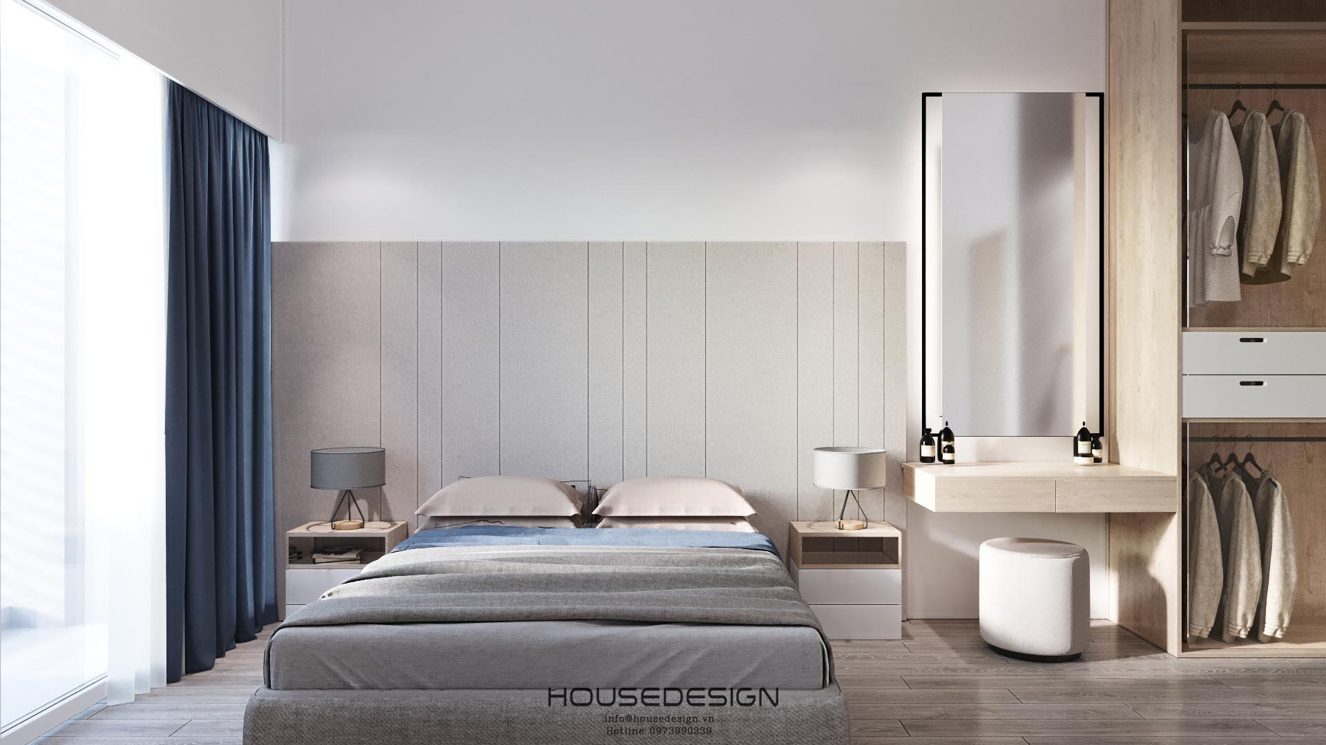 phòng ngủ có nội thất phong cách mininalism chuyên nghiệp