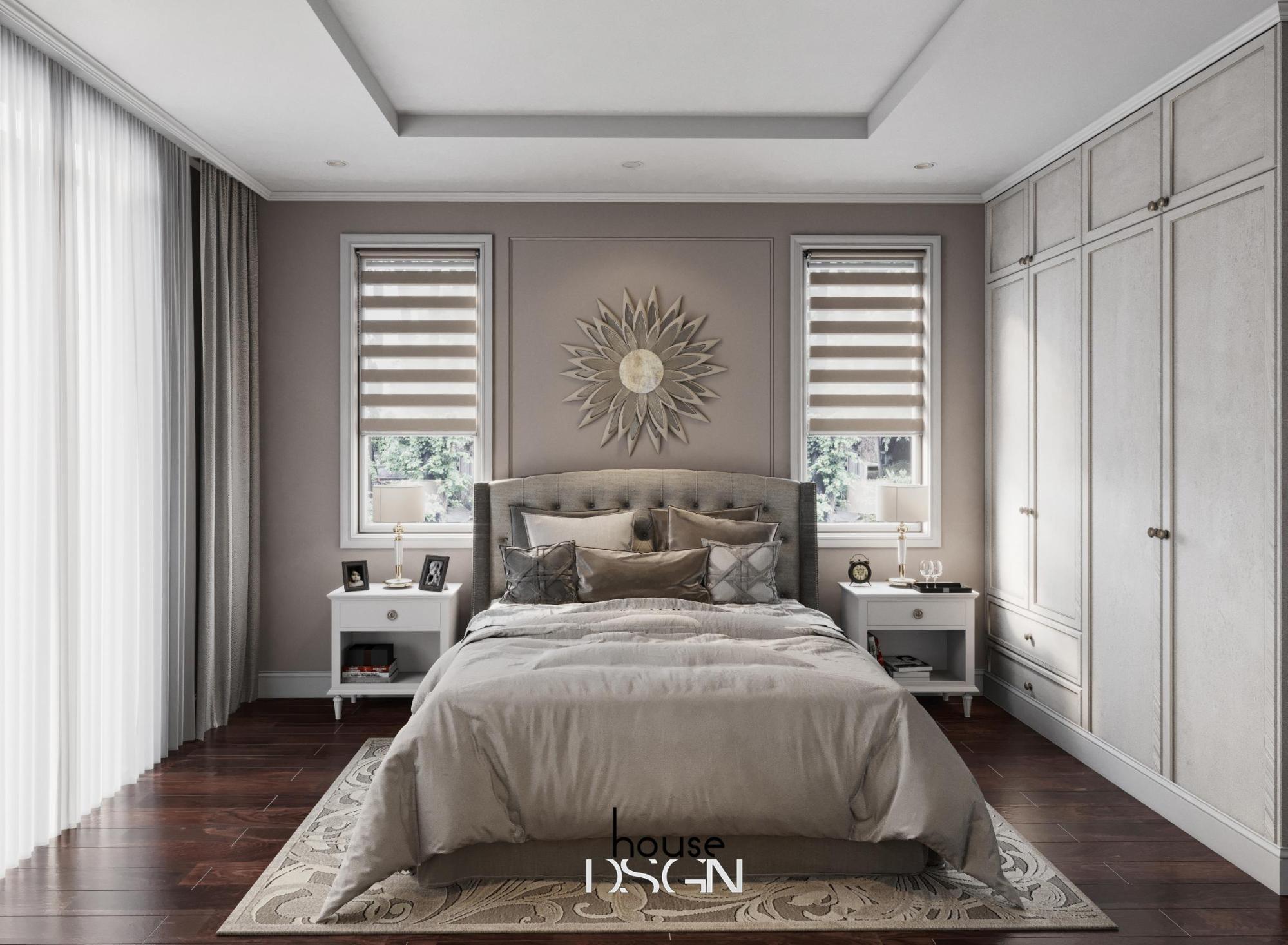 mẫu thiết kế nội thất phong cách châu âu đẹp