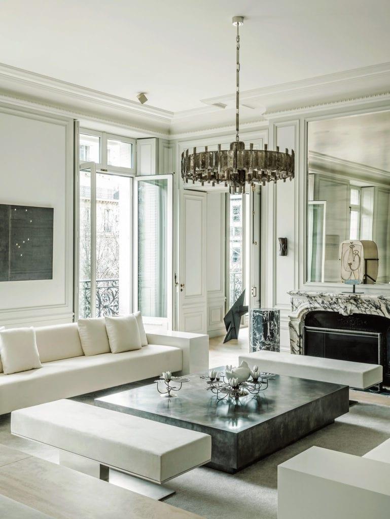 phong cách art deco cho phòng khách