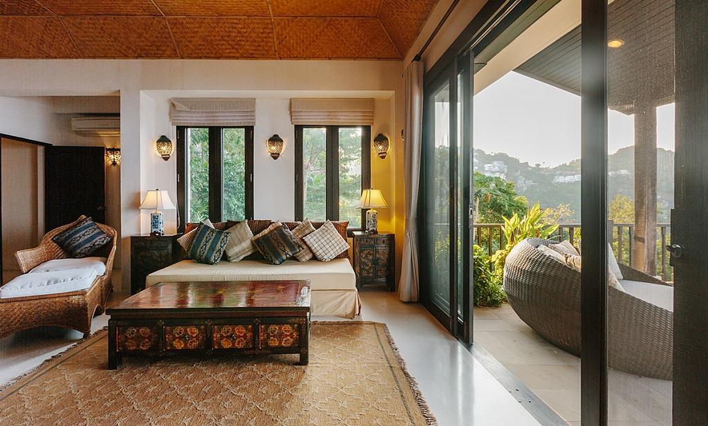 đồ nội thất phong cách tropical ấn tượng
