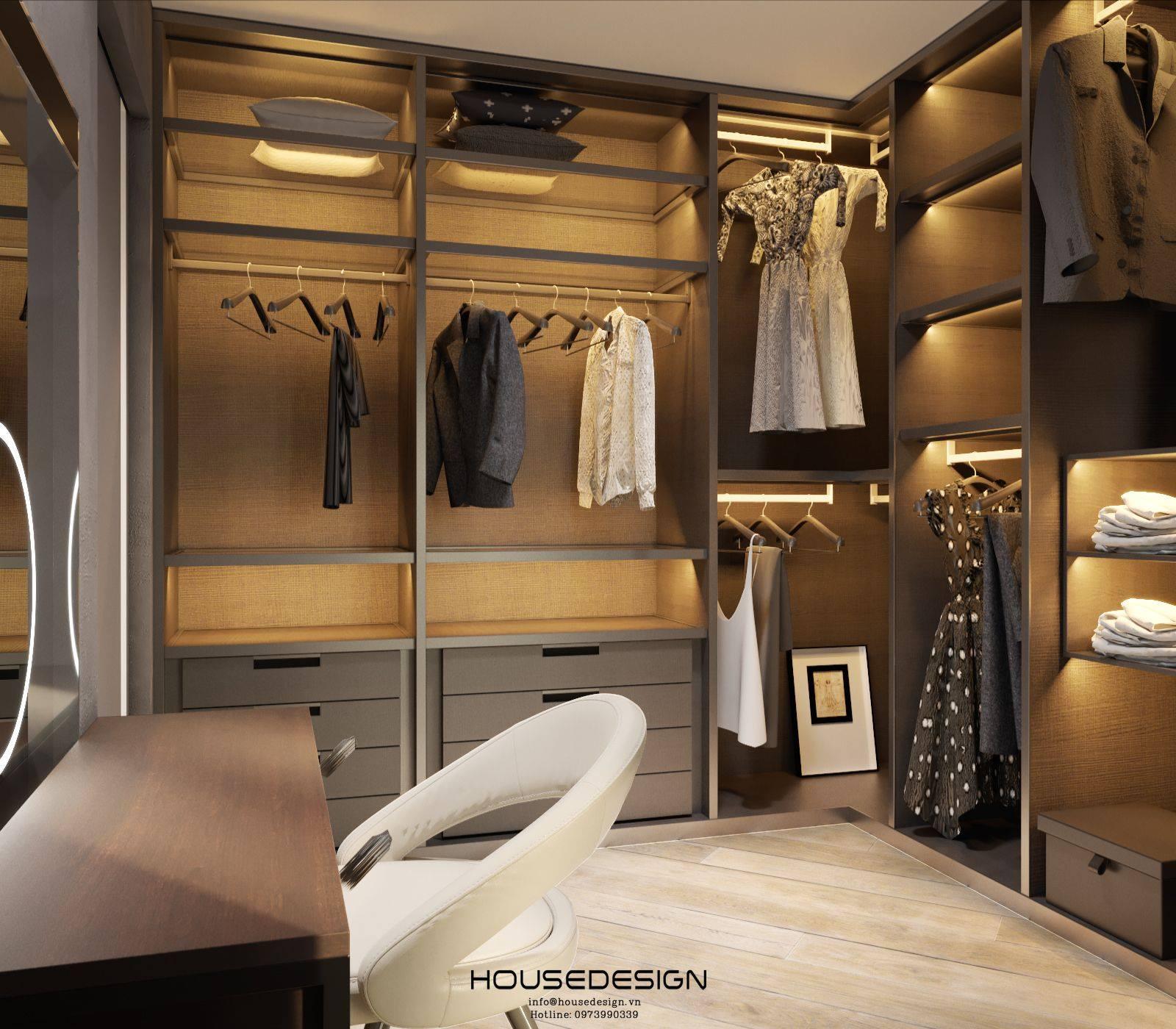 nội thất cho tủ đồ