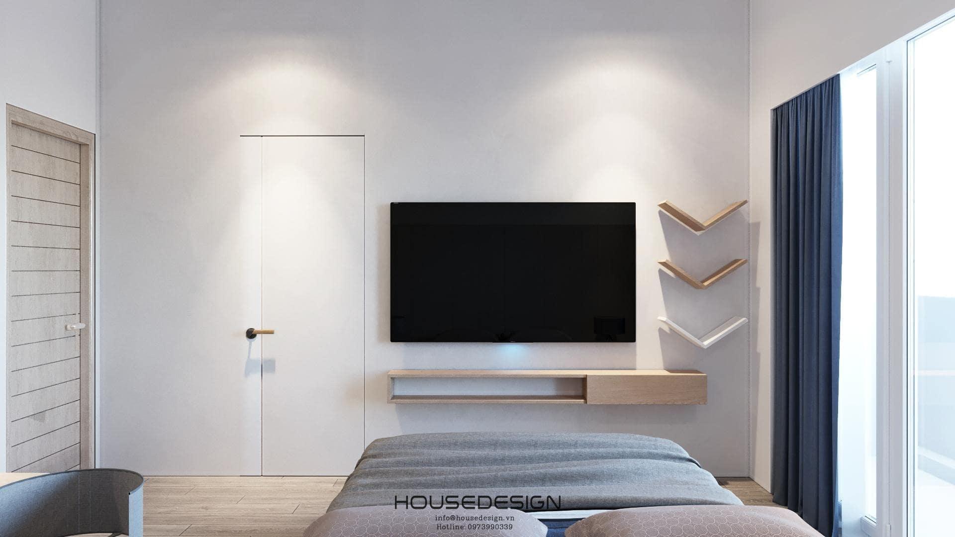 thiết kế nội thất phòng ngủ palm residence