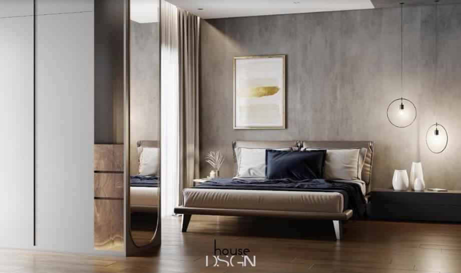 thiết kế căn hộ 52m2 đẹp