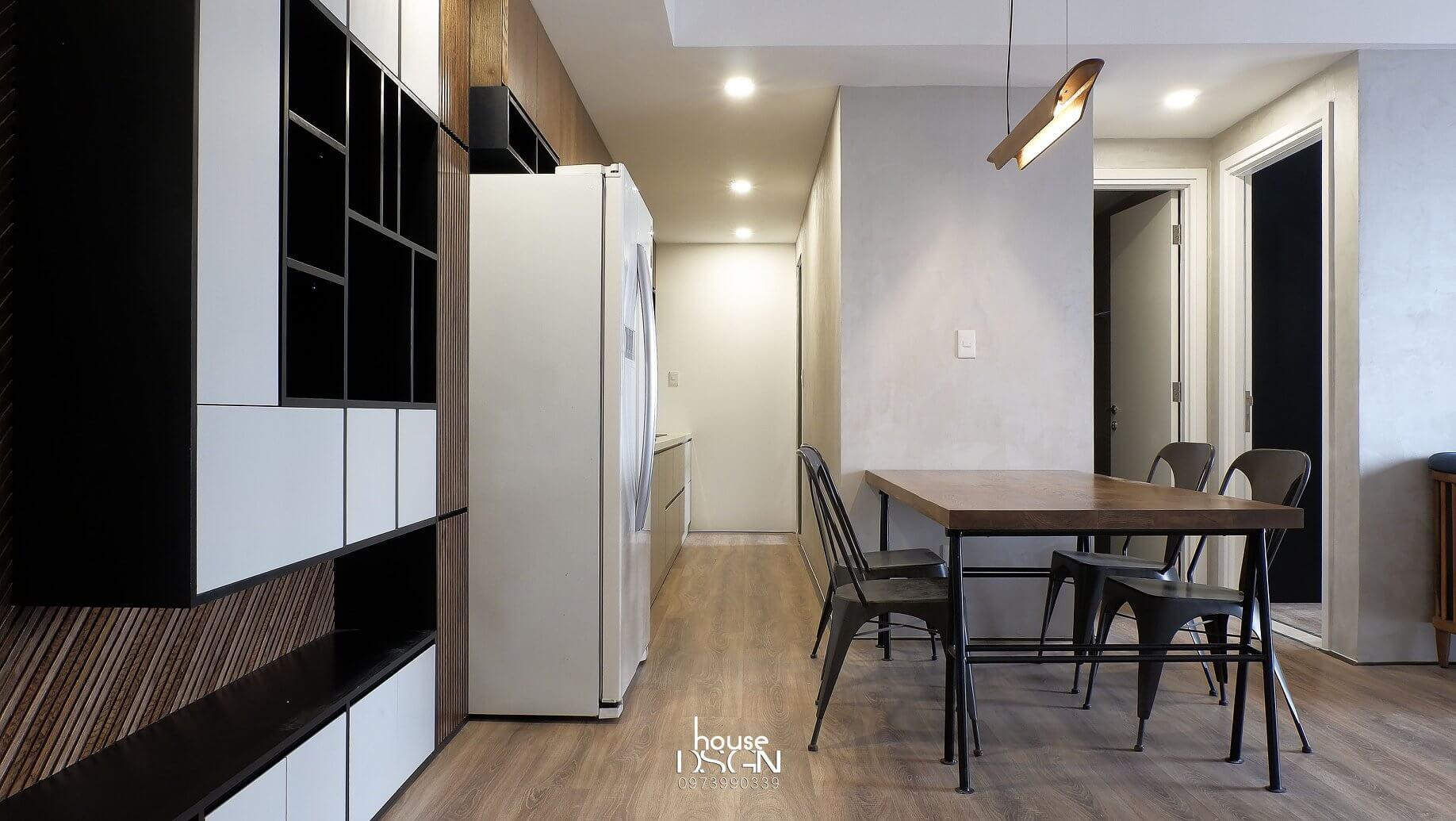 thiết kế nội thất căn hộ 100m2 chuyên nghiệp