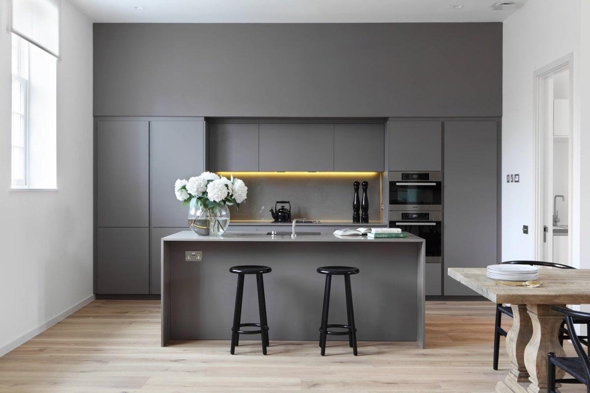 thiết kế nội thất phòng bếp theo xu hướng