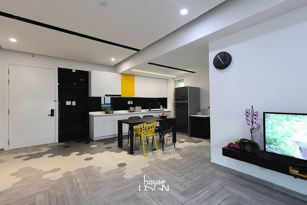 không gian mở cho căn hộ