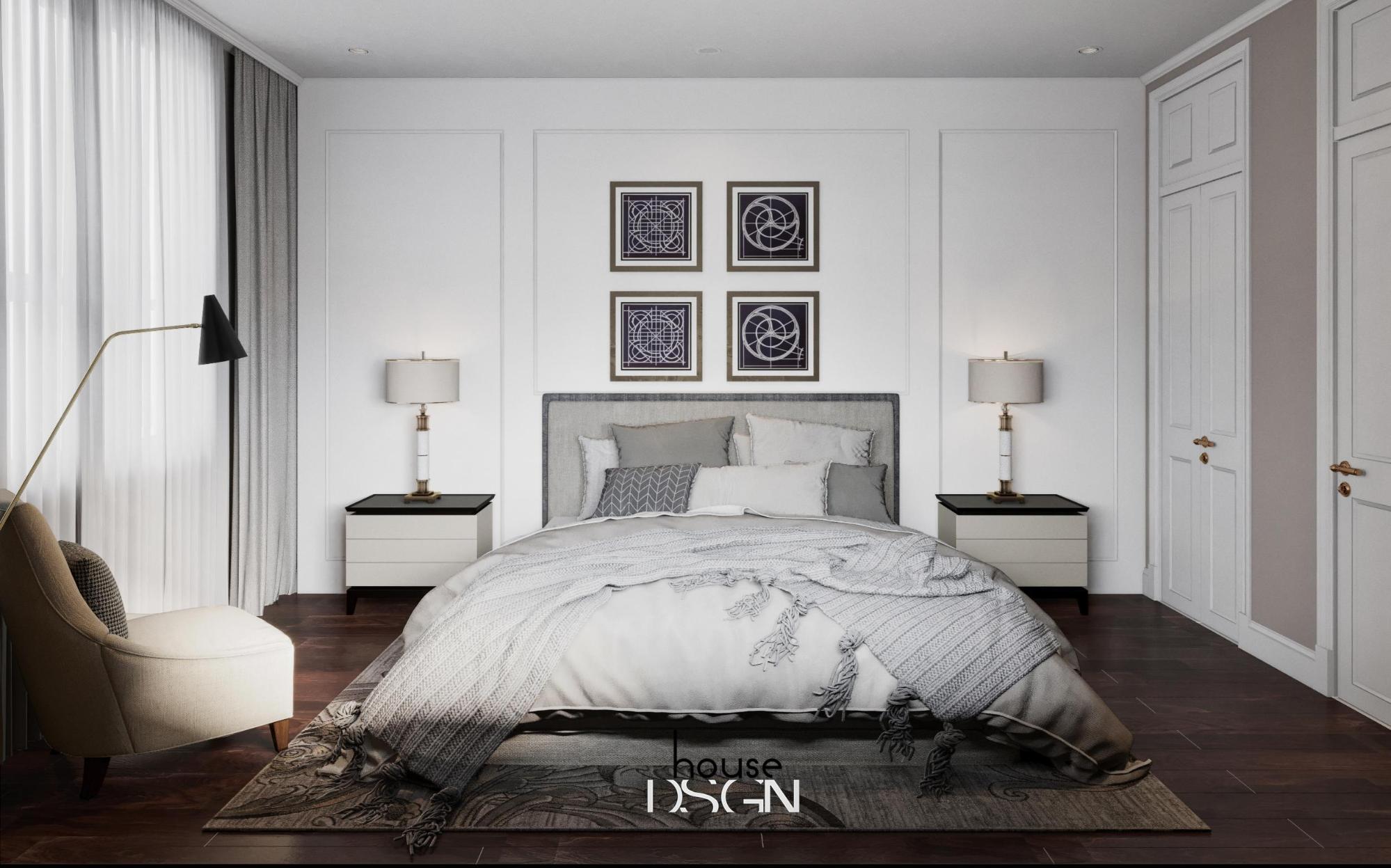 nội thất phong cách á đông cho phòng ngủ