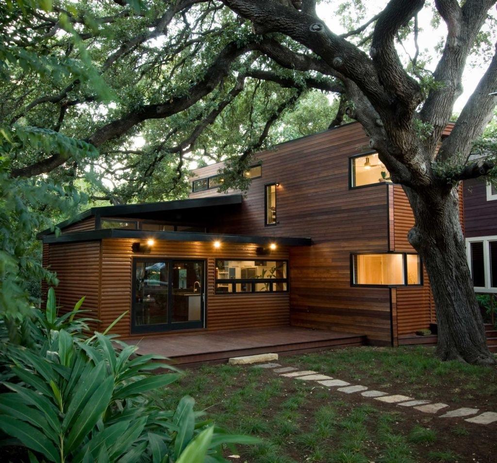 nhà gỗ trong sự đơn giản đẹp
