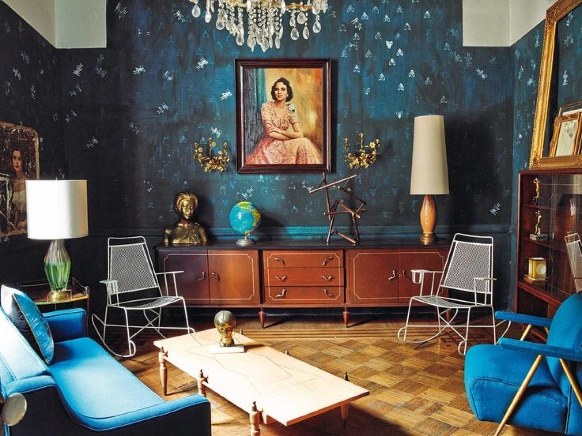 thiết kế nội thất phong cách chiết trung ấn tượng