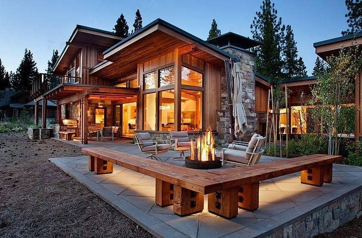 nhà bằng gỗ đơn giản