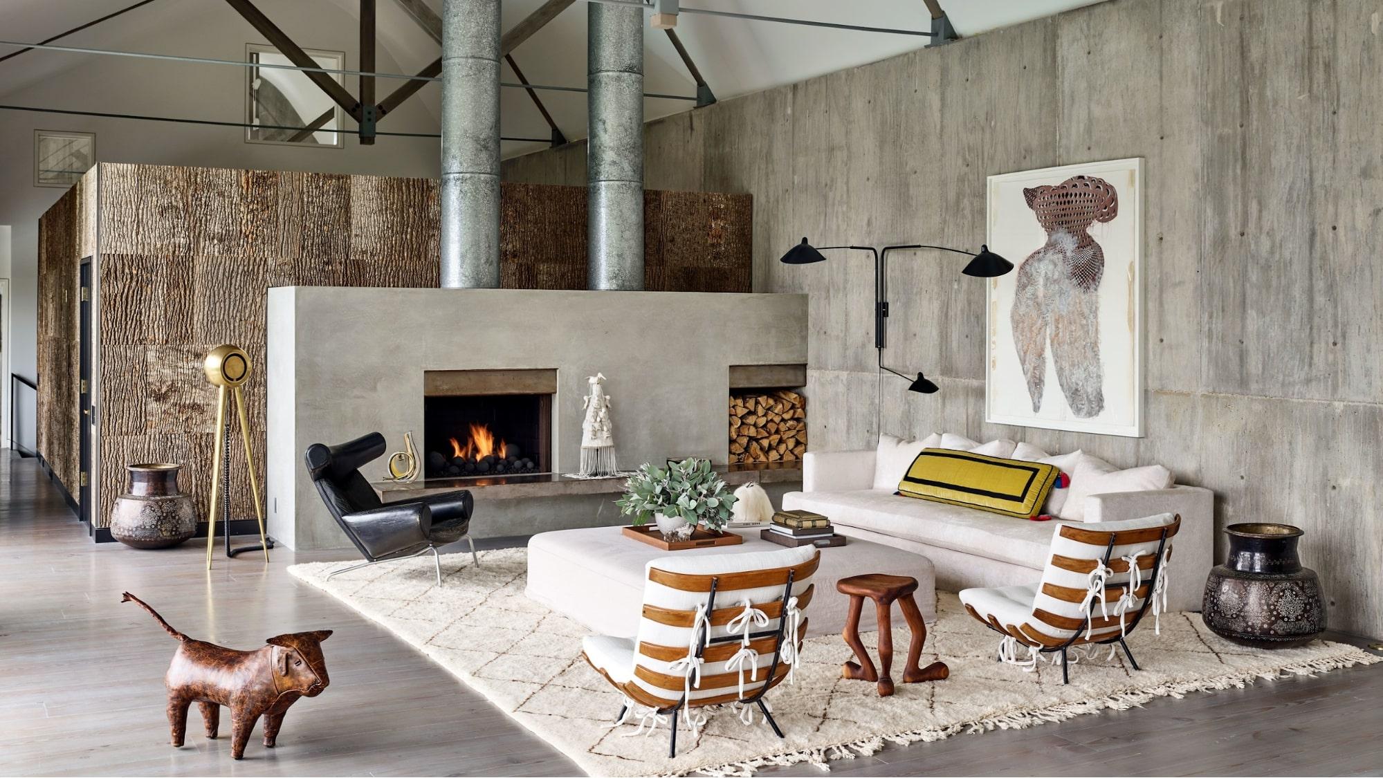 phong cách nội thất thô mộc có gì hay