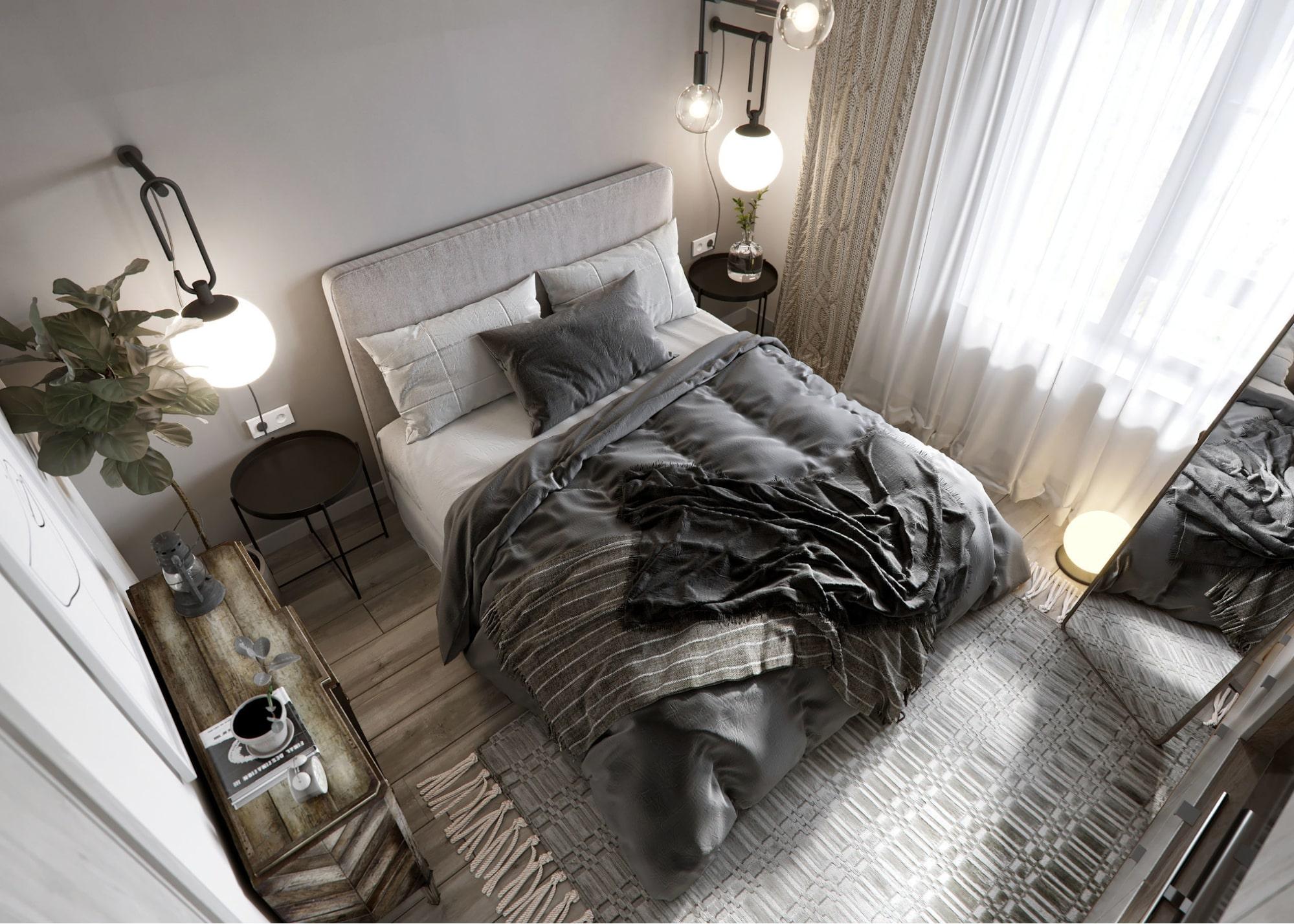 phòng ngủ phong cách nội thất scandinavian đẹp