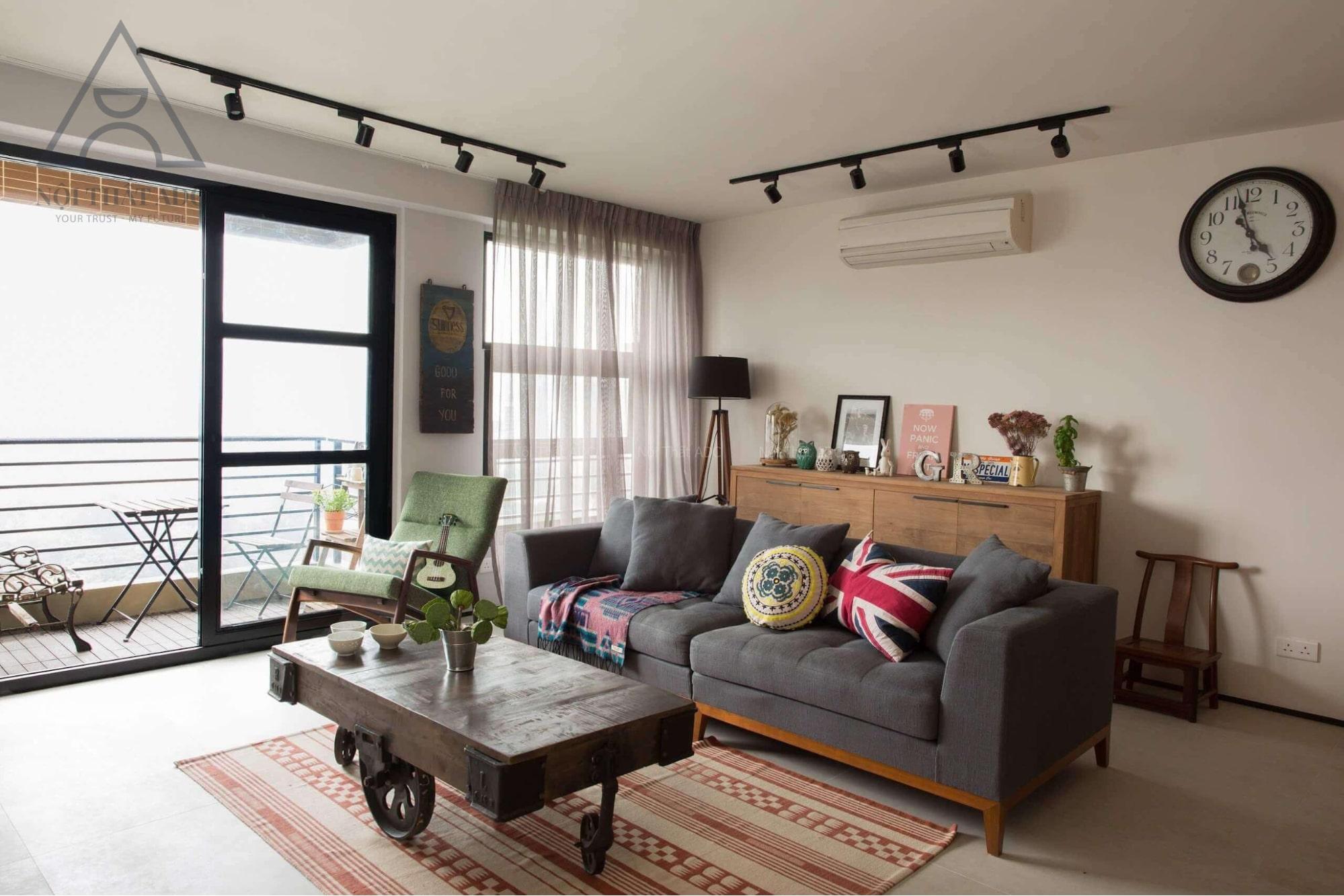 phong cách thiết kế nội thất đẹp cho phòng khách