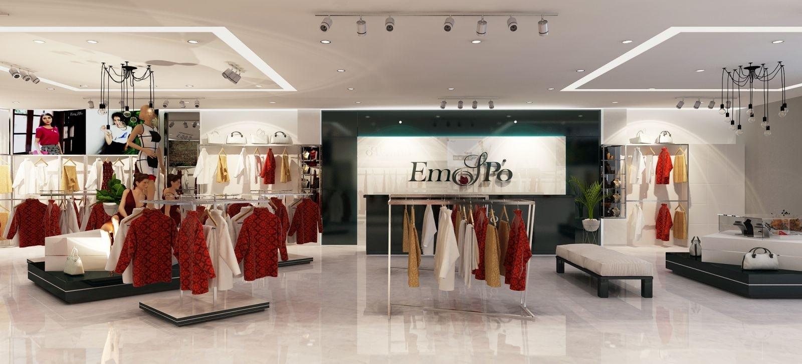 Thiết kế nội thất showroom đơn giản