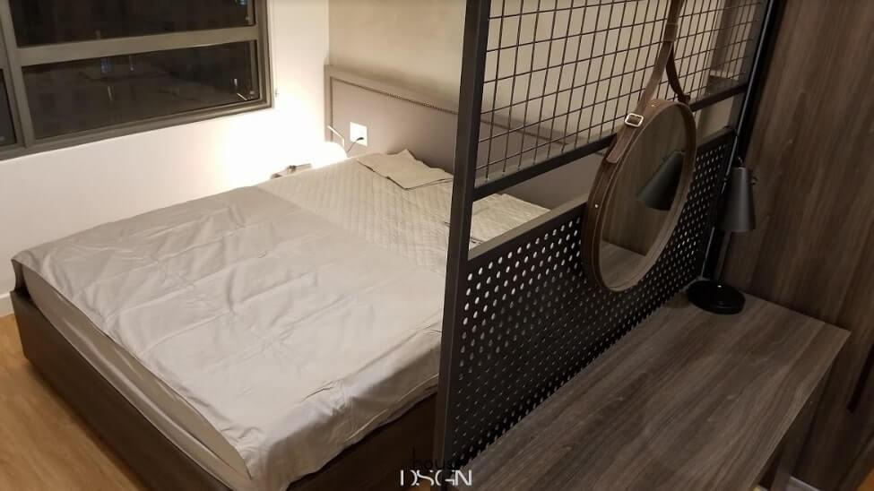 thiết kế nội thất chung cư 65m2 2 phòng ngủ đẹp