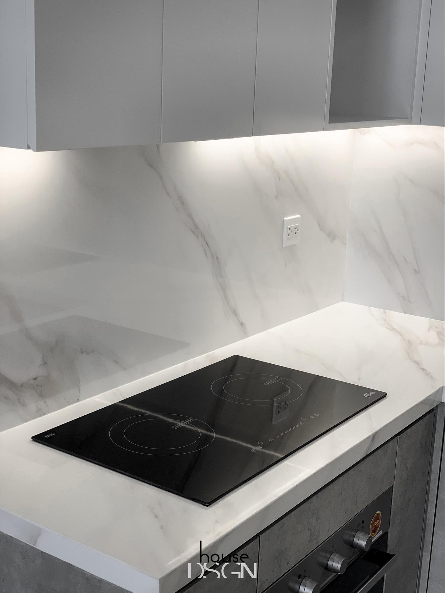 thiết kế phong cách thô mộc cho nhà bếp