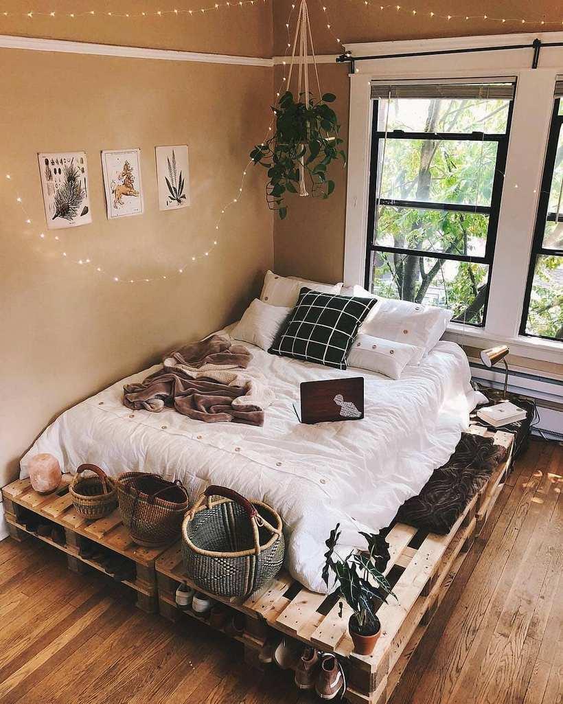 thiết kế nội thất retro cho phòng ngủ đẹp