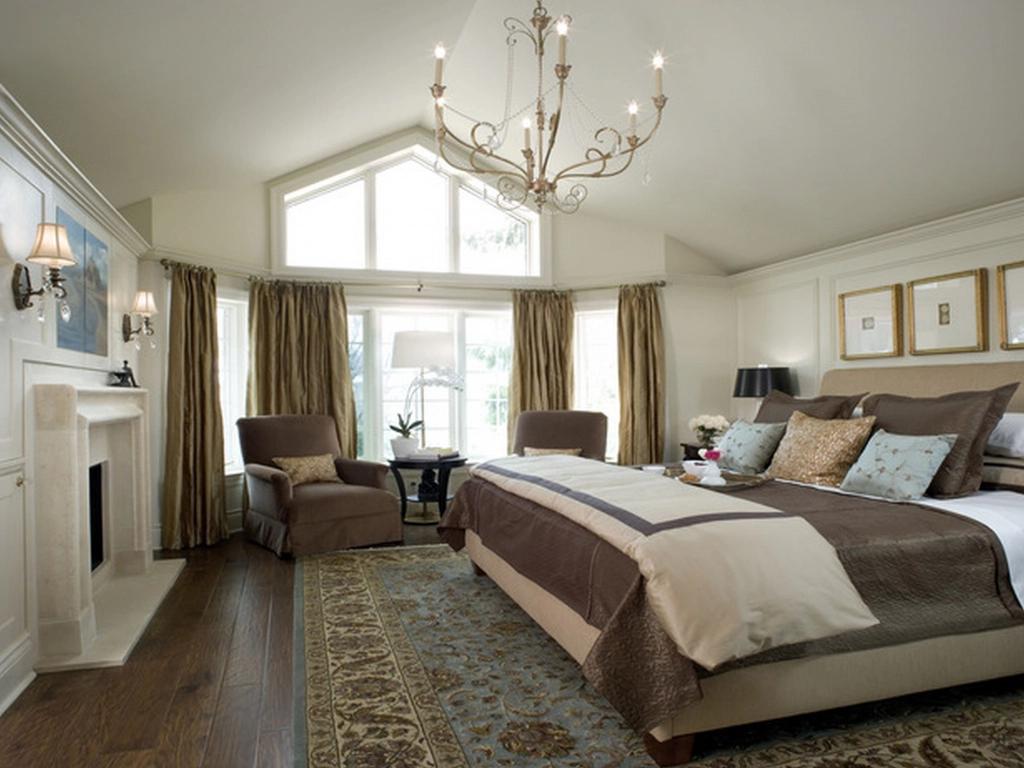 phòng ngủ thiết kế theo phong cách country