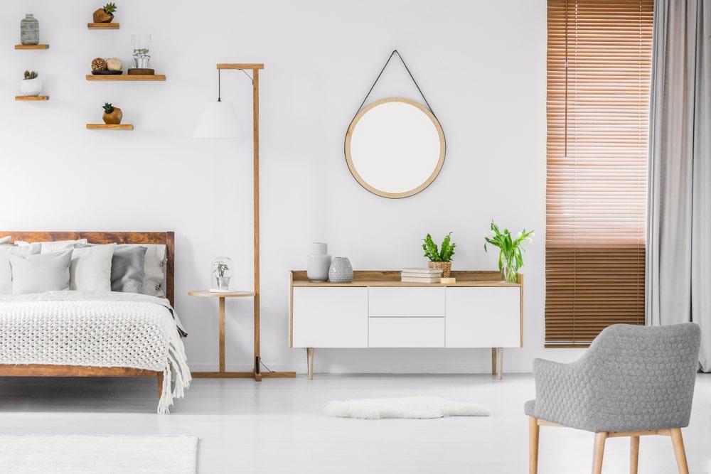 phòng ngủ thiết kế nội thất phong cách bắc âu đẹp