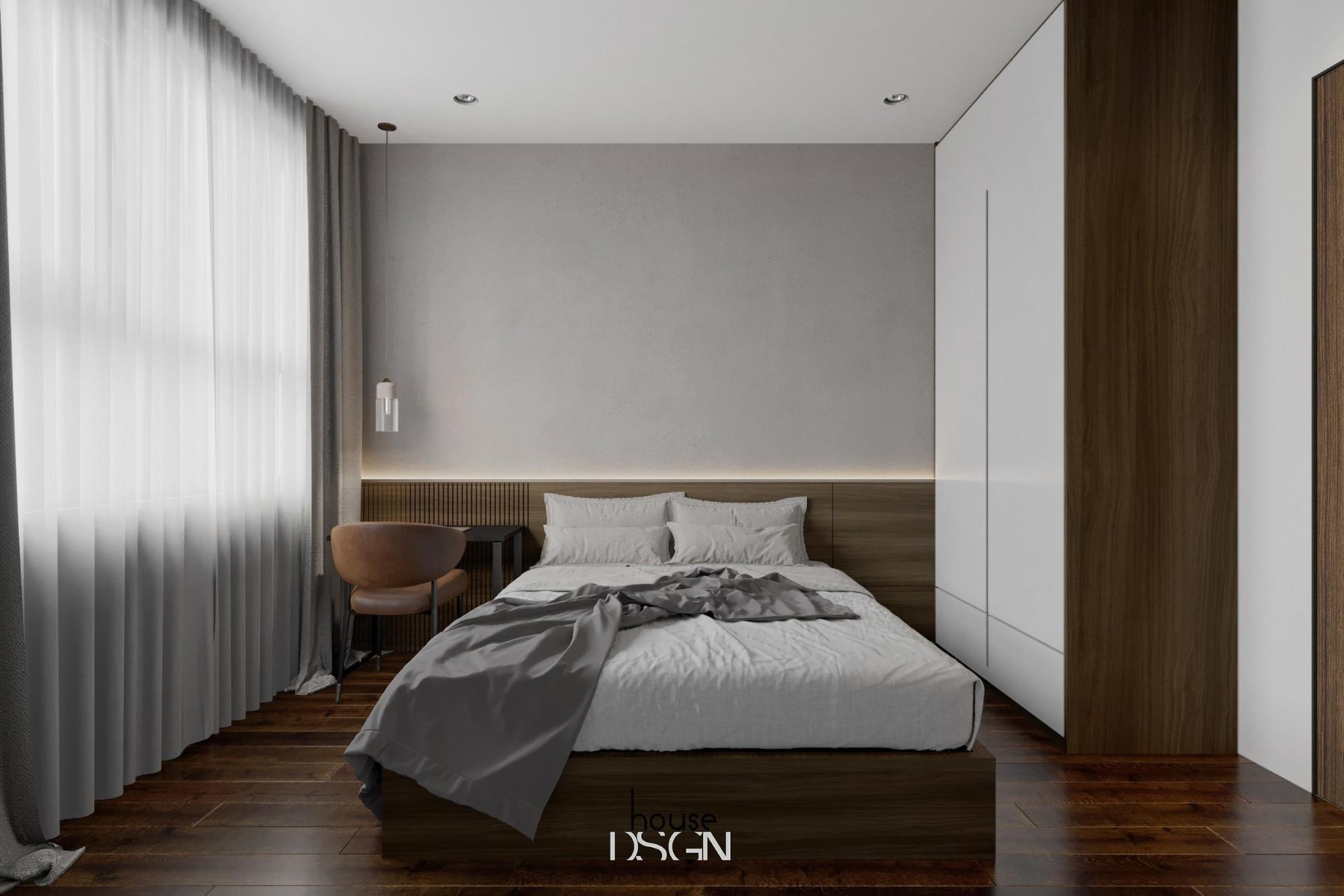 thiết kế phòng ngủ theo phong cách nội thất đương đại