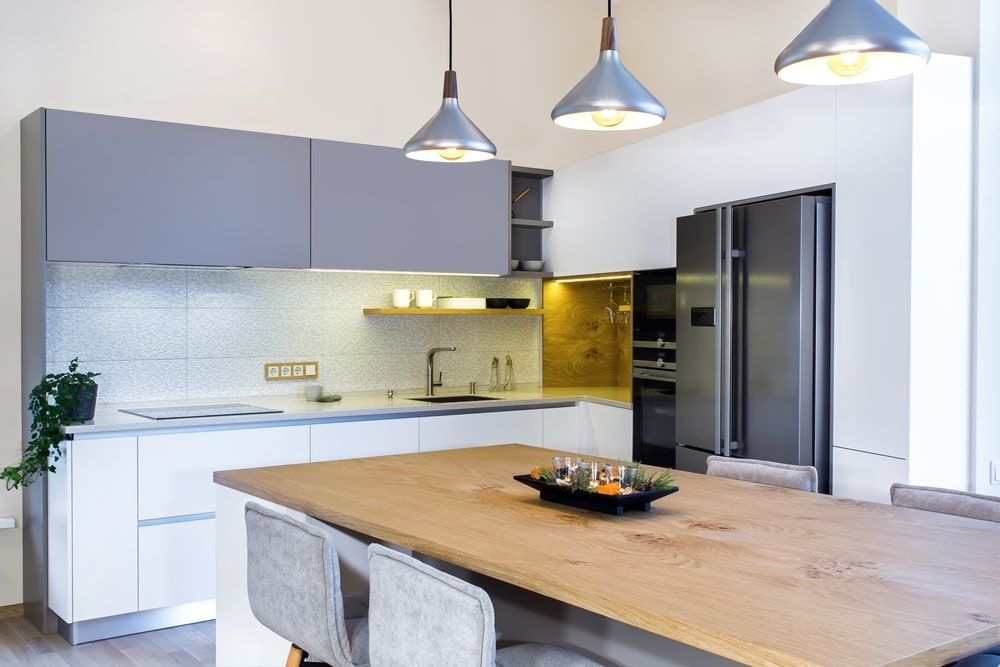 thiết kế đảo bếp cho không gian sống