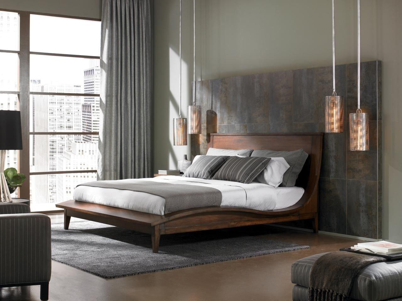 trang trí nội thất urban cho phòng ngủ