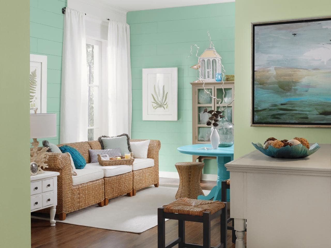 thiết kế nội thất phong cách coastal